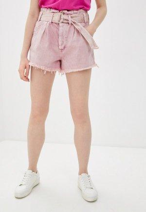 Шорты джинсовые Free People. Цвет: розовый