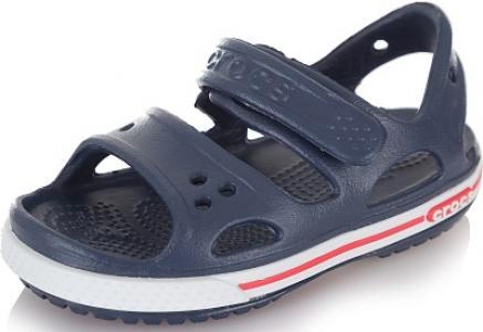 Сандалии для мальчиков Crocband II Sandal PS, размер 23 Crocs. Цвет: синий