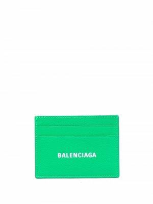 Картхолдер Cash Balenciaga. Цвет: зеленый