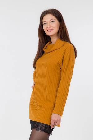 Пуловер LookLikeCat. Цвет: жёлтый