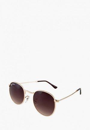 Очки солнцезащитные Ray Flector. Цвет: золотой