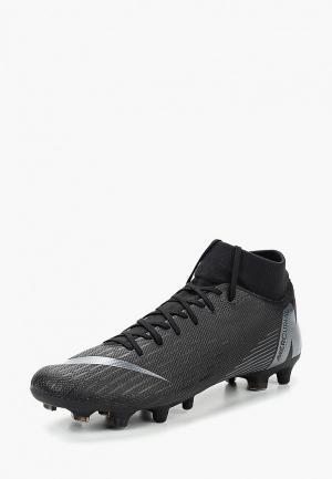 Бутсы Nike Superfly 6 Academy MG Multi-Ground Football Boot. Цвет: черный
