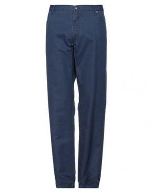 Повседневные брюки HENRY COTTON'S. Цвет: синий