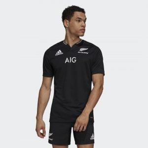 Домашняя игровая футболка All Blacks Replica Performance adidas. Цвет: черный