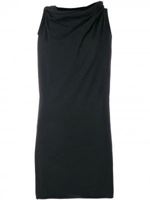 Платье-туника Toga Rick Owens DRKSHDW. Цвет: черный