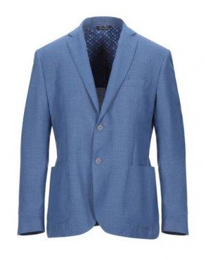 Пиджак ALESSANDRO GILLES. Цвет: синий