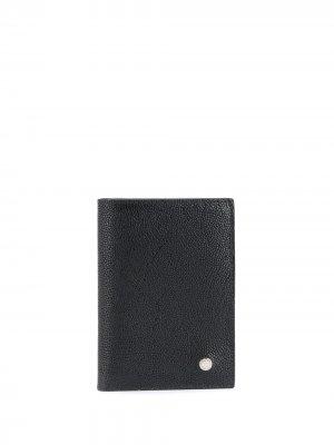 Плоский бумажник Orciani. Цвет: черный