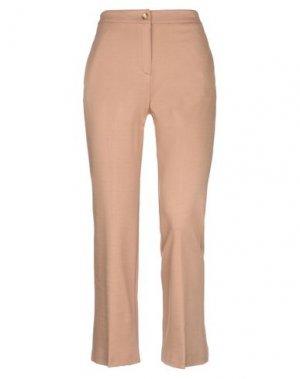 Повседневные брюки KAOS. Цвет: верблюжий