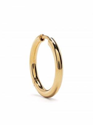 Серьги-кольца среднего размера Tom Wood. Цвет: золотистый