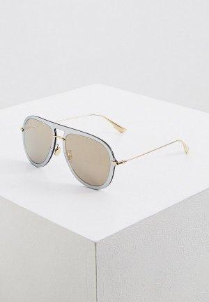 Очки солнцезащитные Christian Dior DIORULTIME1 AVB. Цвет: золотой
