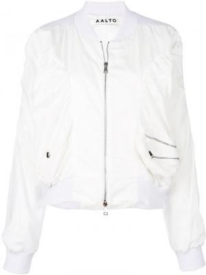 Куртка-бомбер на молнии Aalto