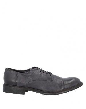 Обувь на шнурках ERNESTO DOLANI. Цвет: стальной серый