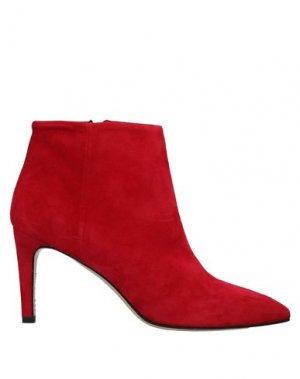 Полусапоги и высокие ботинки ALCHIMIA. Цвет: красный