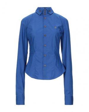 Pубашка VIVIENNE WESTWOOD. Цвет: синий