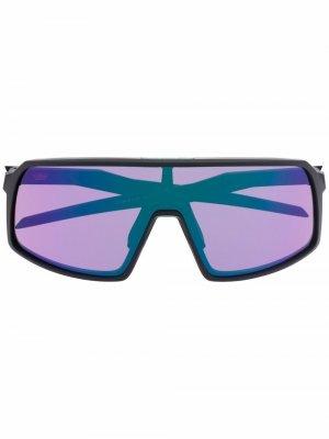 Солнцезащитные очки-маска Sutro Oakley. Цвет: черный