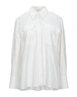 Pубашка LALA BERLIN. Цвет: белый