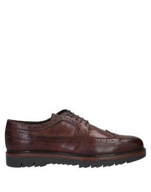 Обувь на шнурках CAFèNOIR. Цвет: коричневый
