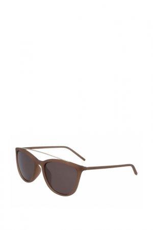 Солнцезащитные очки D K N Y. Цвет: коричневый
