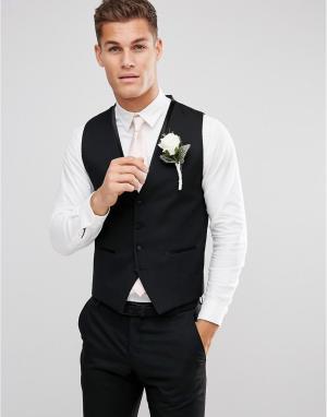 Приталенный жилет Selected Homme