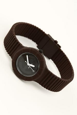 Часы Hip Hop. Цвет: коричневый
