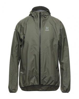 Куртка HAGLÖFS. Цвет: зеленый-милитари