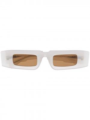 Солнцезащитные очки X5 Mask Kuboraum. Цвет: белый