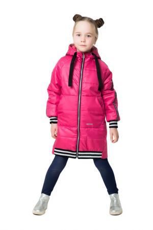 Пальто Emson. Цвет: розовый