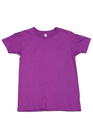 Футболка American Apparel. Цвет: фиолетовый