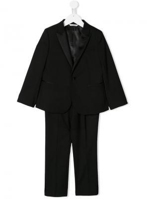 Классический костюм-двойка Dolce & Gabbana Kids. Цвет: черный