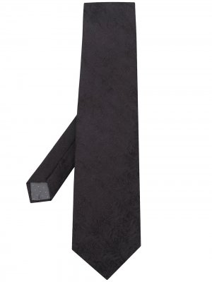 Фактурный галстук 1990-х годов Gianfranco Ferré Pre-Owned. Цвет: черный