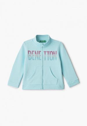 Олимпийка United Colors of Benetton. Цвет: голубой