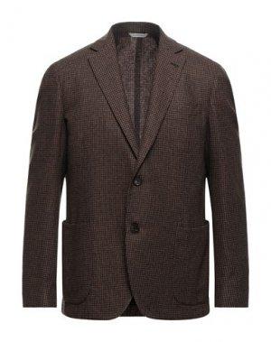 Пиджак 0909 FATTO IN ITALIA. Цвет: коричневый