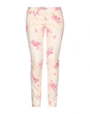Повседневные брюки JCOLOR. Цвет: абрикосовый