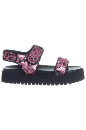 Сандалии Ioannis. Цвет: pink and black