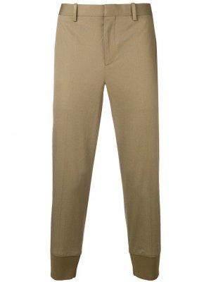 Классические зауженные брюки Neil Barrett. Цвет: бежевый