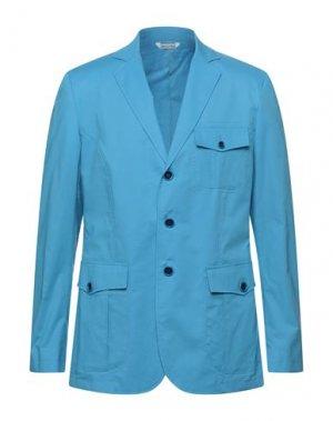 Пиджак YOON. Цвет: лазурный