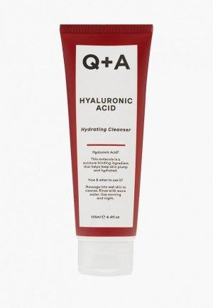 Гель для лица Q+A HYALURONIC ACID, 125 мл. Цвет: прозрачный