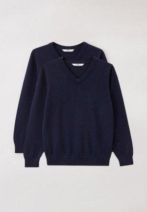 Пуловеры 2 шт. Marks & Spencer. Цвет: синий