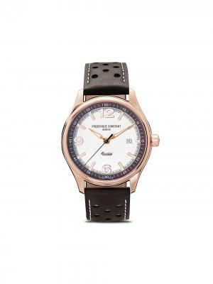 Наручные часы Vintage Healey Automatic 40 мм ограниченной серии Frédérique Constant. Цвет: серебристый