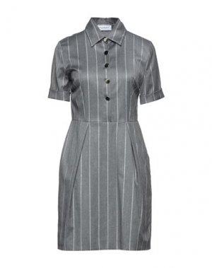 Короткое платье ANNA RACHELE. Цвет: серый