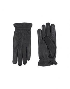 Перчатки ORCIANI. Цвет: черный