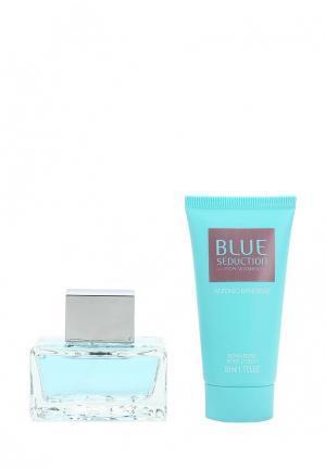 Набор парфюмерный Antonio Banderas Blue Seduction Туалетная вода 50 мл + лосьон для тела