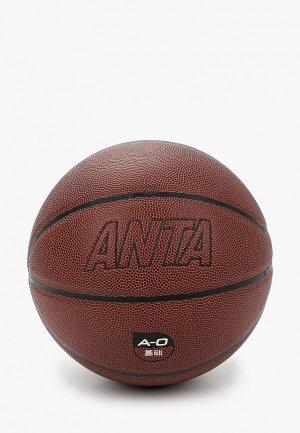 Мяч баскетбольный Anta. Цвет: коричневый