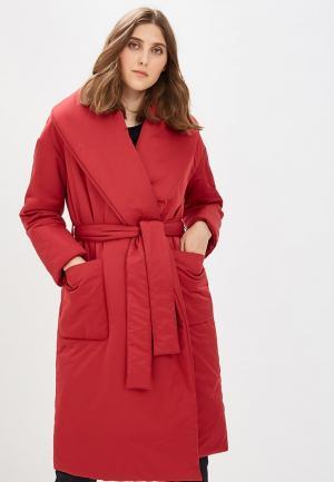Куртка утепленная Ruxara. Цвет: красный