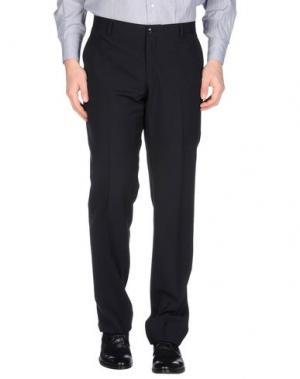 Классические брюки EMPORIO ARMANI. Цвет: черный