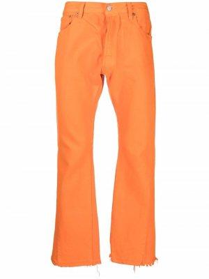 Расклешенные джинсы GALLERY DEPT.. Цвет: оранжевый