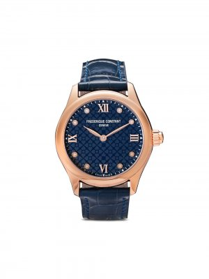Наручные часы Ladies Vitality 36 мм Frédérique Constant. Цвет: розовый