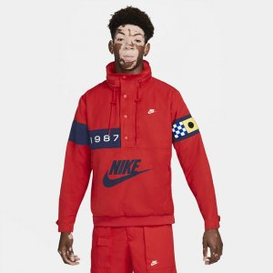 Мужская ветровка из тканого материала Sportswear Reissue - Красный Nike