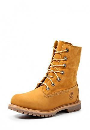 Ботинки Timberland Authentics FTW. Цвет: коричневый