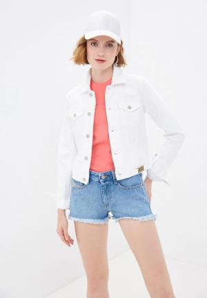 Куртка джинсовая Diesel. Цвет: белый